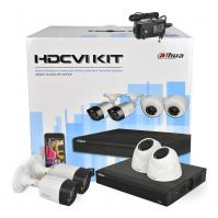Dahua на 1-4 камеры CVI 1мп