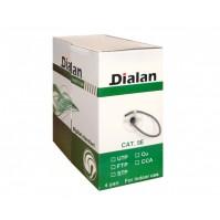 Витая пара Dialan FTP Cat.5E 4PR Cu (200МГц) PE Outdoor