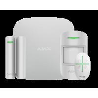 Ajax StarterKit белый комплект GSM сигнализации